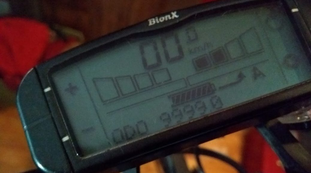 Cycling 10,000 km with a Bionx Electric Bike in Montreal Canada.