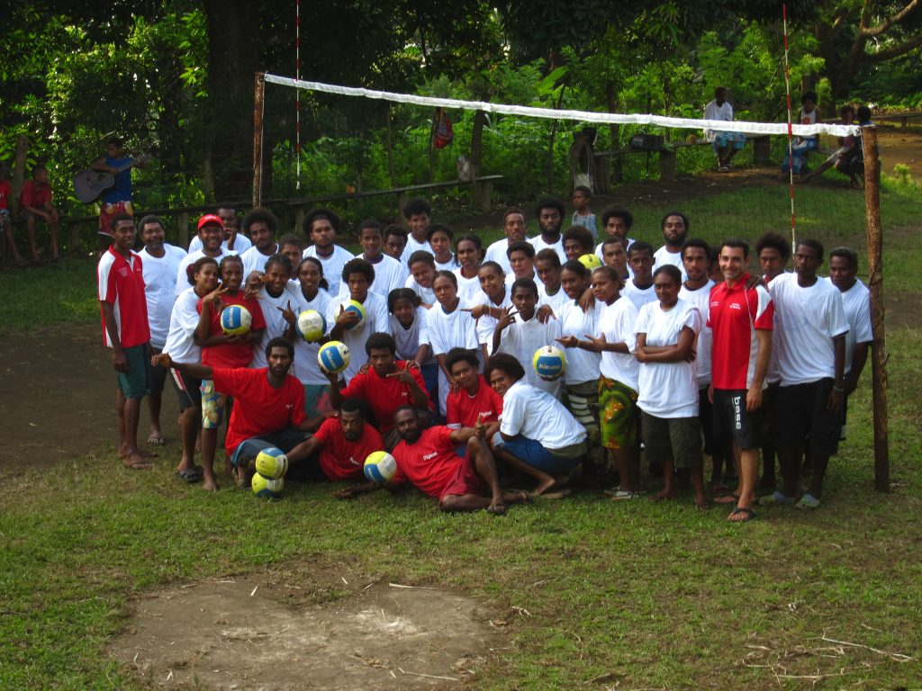 Beach Volleyball Grassroot Development Program in outer islands of the south pacific. Project in collaboration with the international federation and National Olympic Committee.