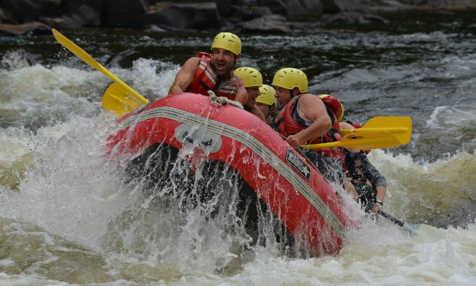 White Water Rafting on Riviere Rouge with JP Godbout