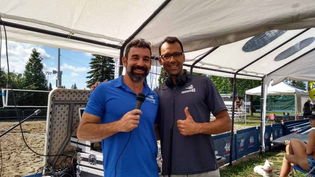 Jean-Patrick Godbout and Milen Christov (DJ Strandja) at the Boucherville Open