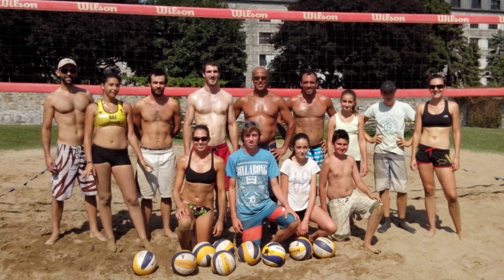 2014 Montreal Beach Volleyball Camp