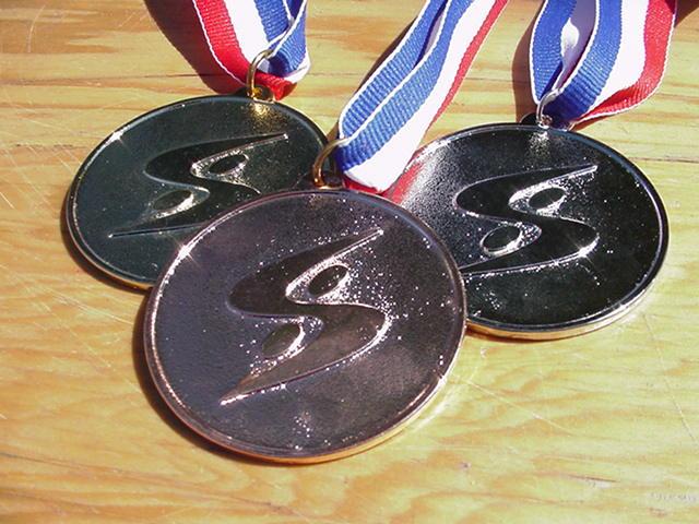 Médailles Championnat Québécois de Sauvetage Sportif 2000
